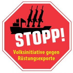 Volksini gegen Rüstungsexporte